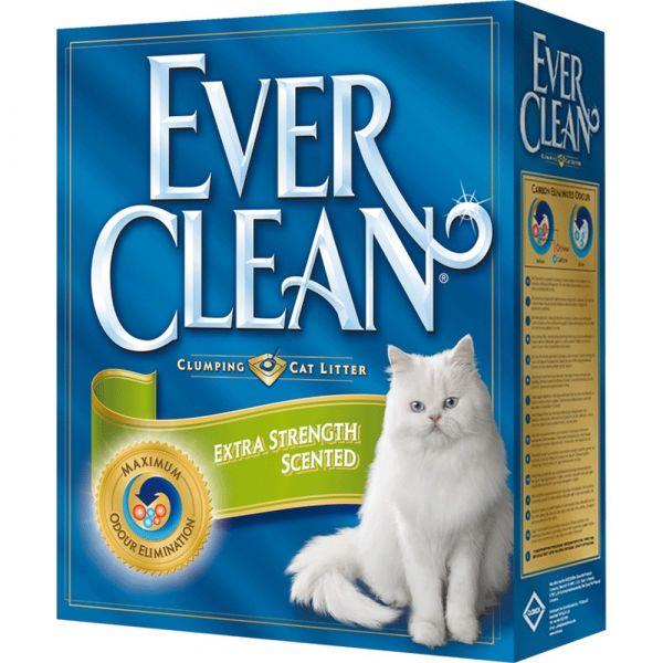 Lettiera igienica ever clean extra forza profumata kg. 6