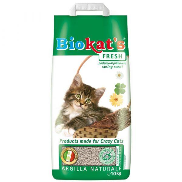 Lettiera per gatti biokat's fresh kg. 10