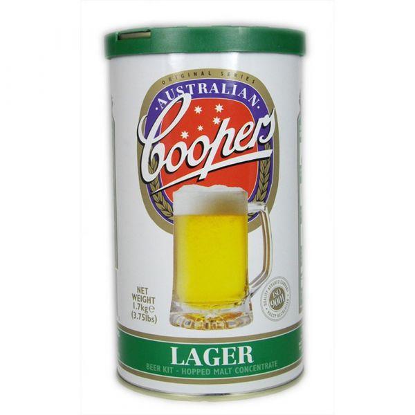 Malto amaricato coopers lager kg. 1,7