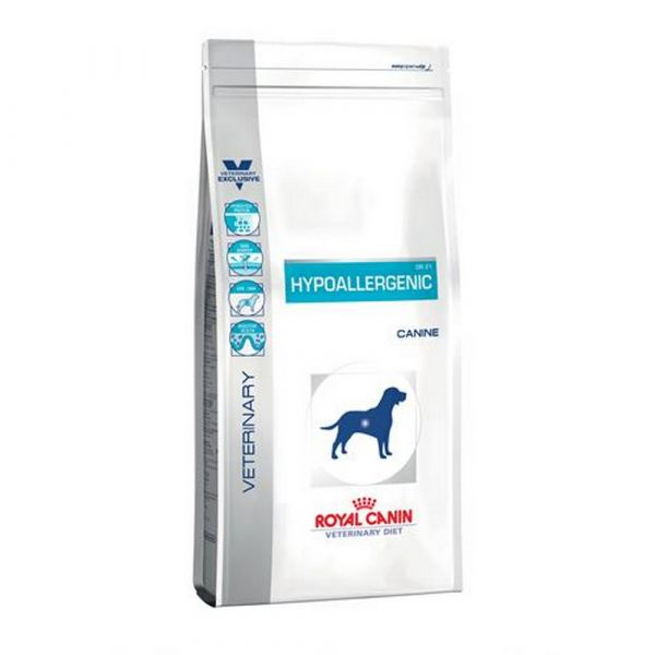 Royal canin hypoallergenic secco cane kg. 14