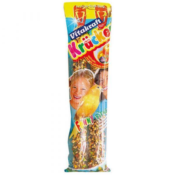 Kracker frutta canarini vitakraft 2 pezzi