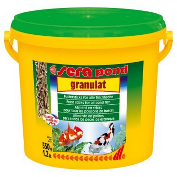 Mangime per pesci granulat sera pond gr. 550