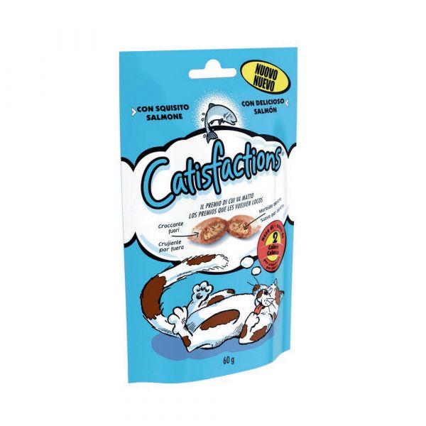 Snack per gatto catisfaction al salmone gr. 60