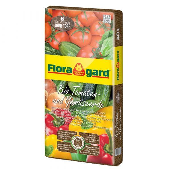 Terriccio biologico per pomodori e ortaggi floragard