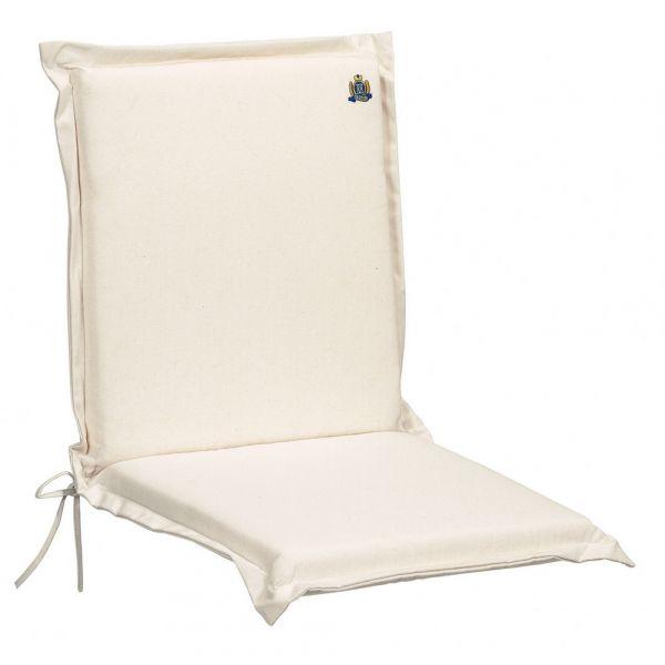 Cuscino per poltrona bassa prestige color ecru naturale