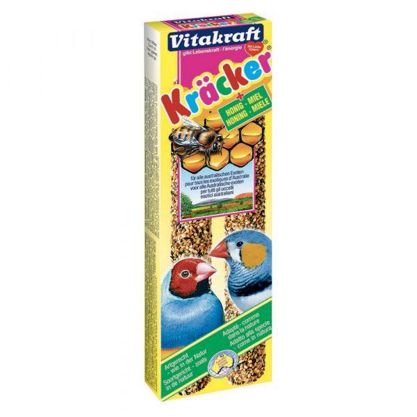 Kracker al miele per esotici vitakraft 2 pezzi