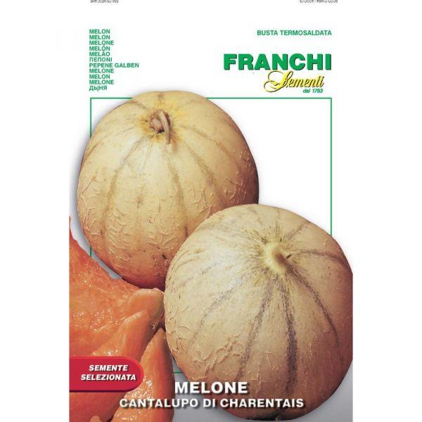 Semente selezionata melone cantalupo di charentais