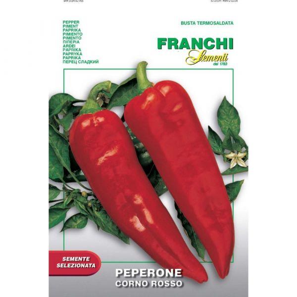 Semente selezionata peperone corno rosso