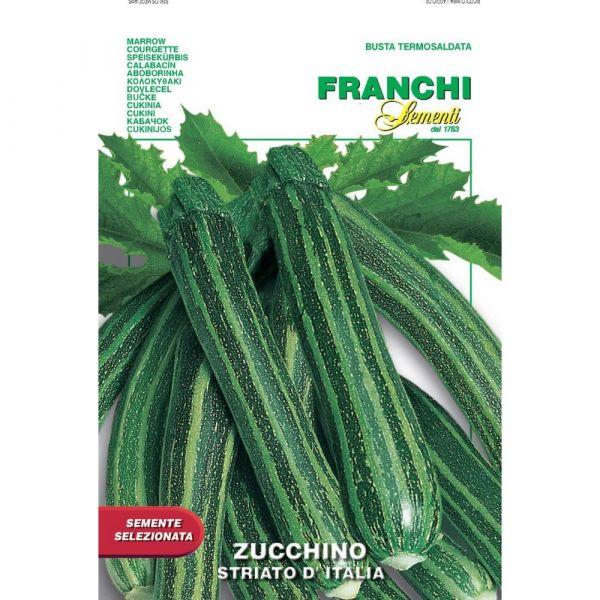 Semente selezionata zucchino striato d'italia