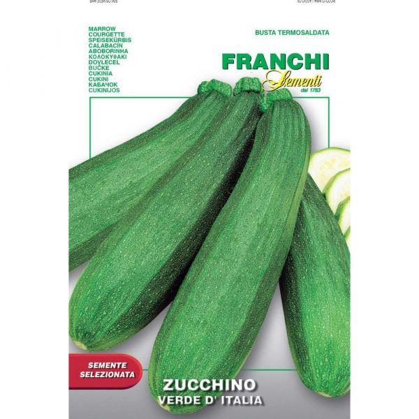 Semente selezionata zucchino verde d'italia