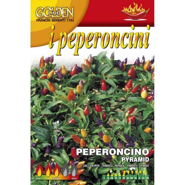 Semente peperoncino piccante pyramid