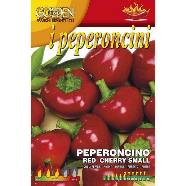 Semente peperoncino piccante red cherry small