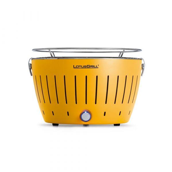 Grill portatile giallo