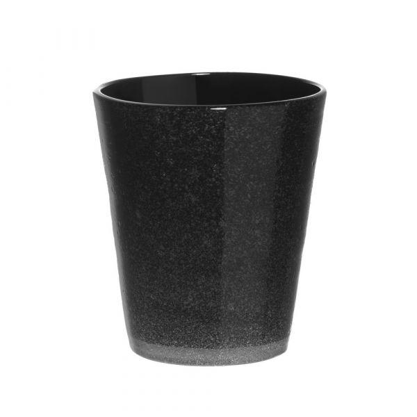 Bicchiere tumbler freshness black