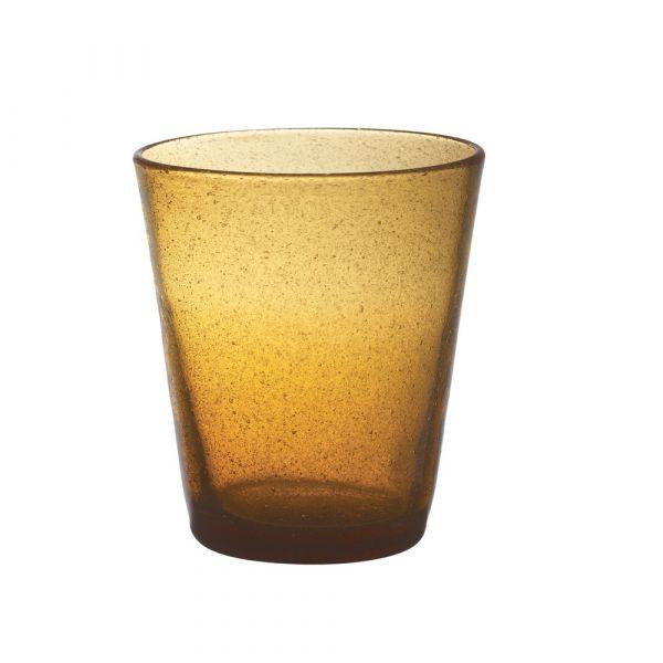 Bicchiere tumbler freshness amber