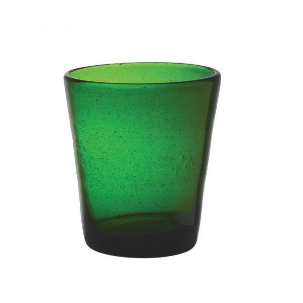 Bicchiere tumbler freshness dark green