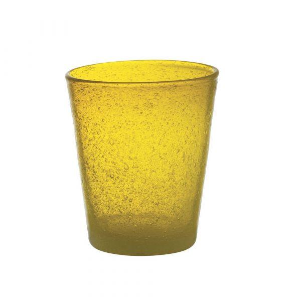 Bicchiere tumbler freshness yellow