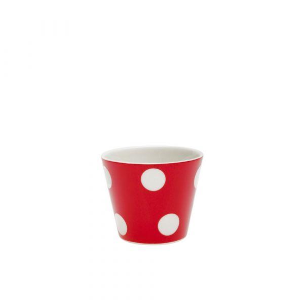 Tazza espresso freshness dots red