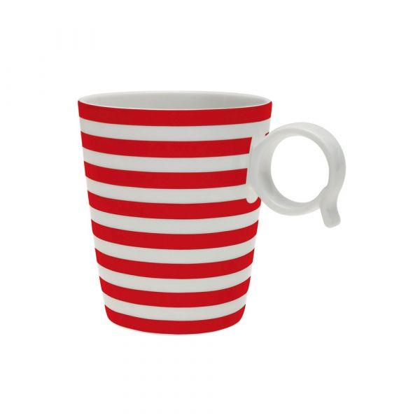 Mug freshness line red