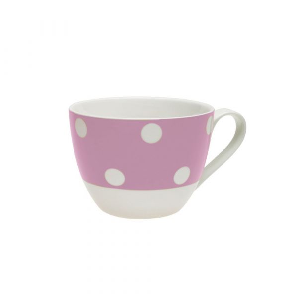 Tazza colazione freshness dots violet