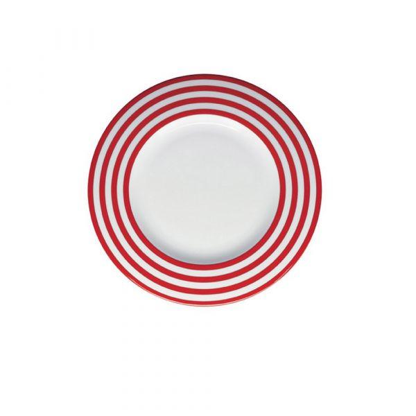 Piatto piano freshness line red