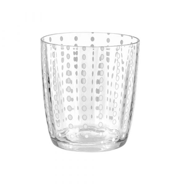 Bicchiere tumbler carnival trasparente
