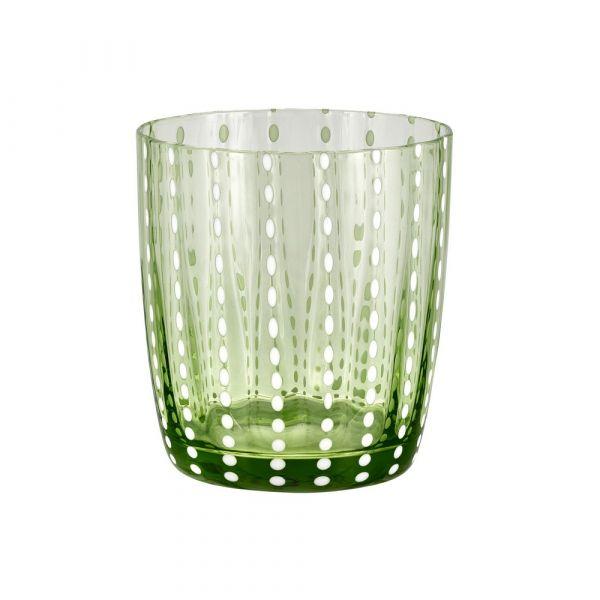 Bicchiere tumbler carnival verde
