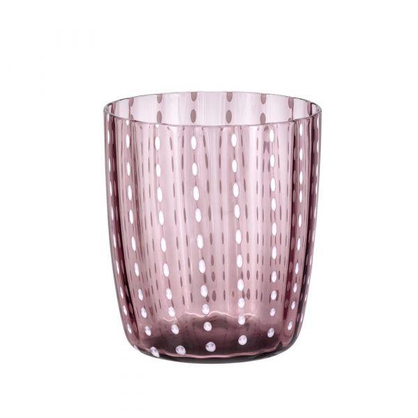Bicchiere tumbler carnival ametista