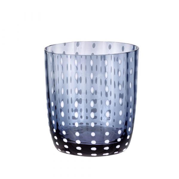 Bicchiere tumbler carnival blu
