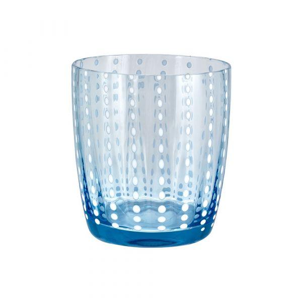 Bicchiere tumbler carnival blu cielo
