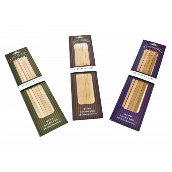 Spiedini in legno aromatizzato