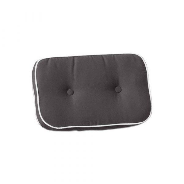 Cuscino per schienale liberty color grigio
