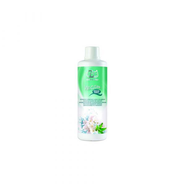 Detergente igienizzante per ambienti al muschio bianco