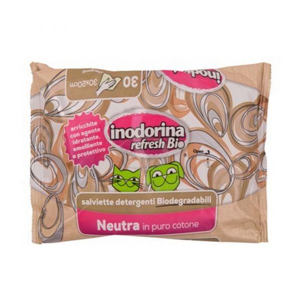 Salviette inodorina biodegradabili profumazione neutra