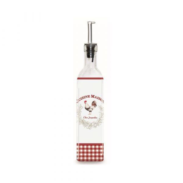 Bottiglia per olio/aceto con dosatore 500ml