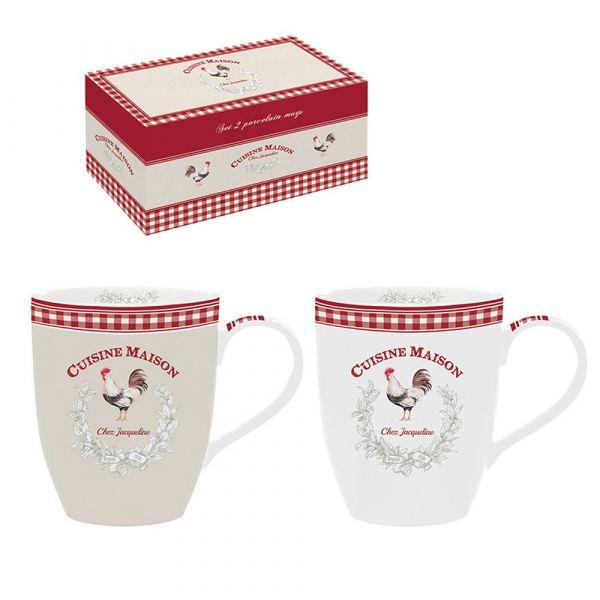Set 2 mug in confezione regalo