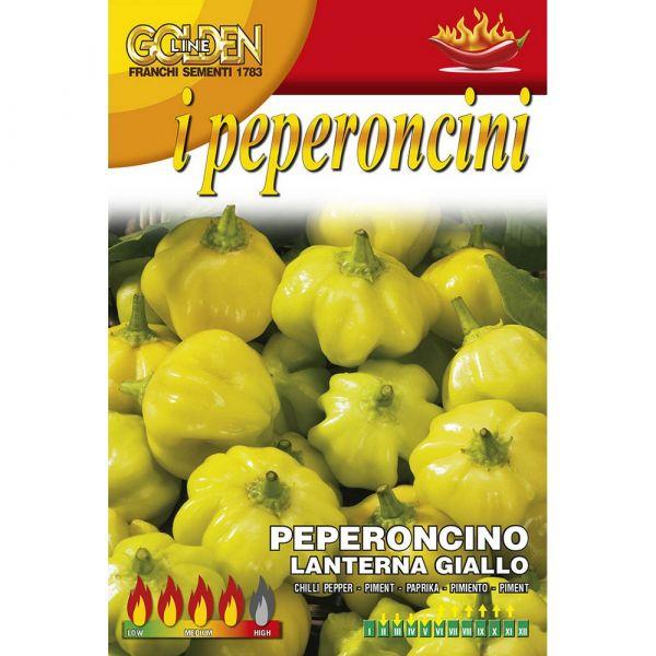 Semente peperoncino piccante lanterna giallo
