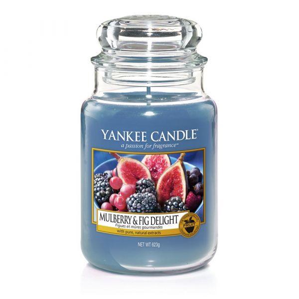 Giara profumata yankee candle mulberry & fig grande