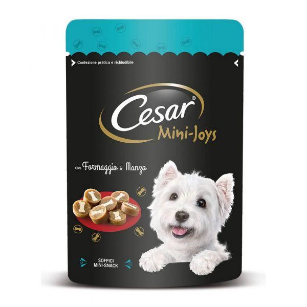 Cesar mini joys al formaggio e manzo 100gr