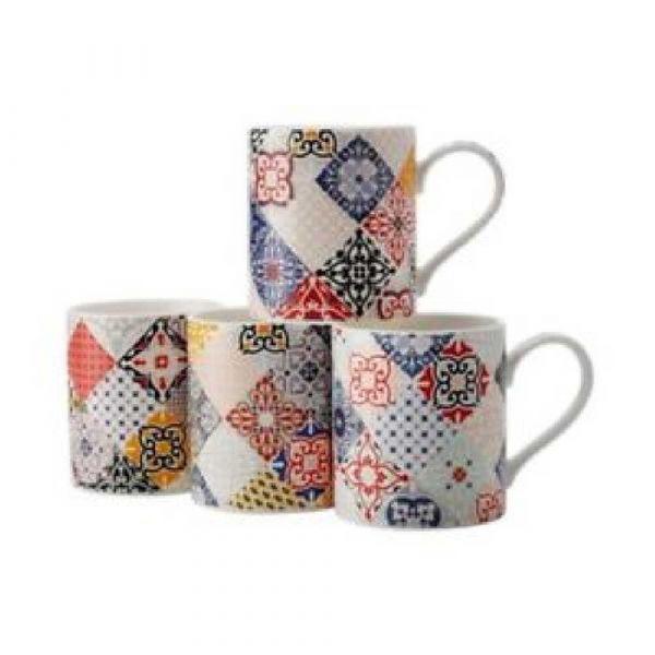 Marrakesh set 4 mug  gb