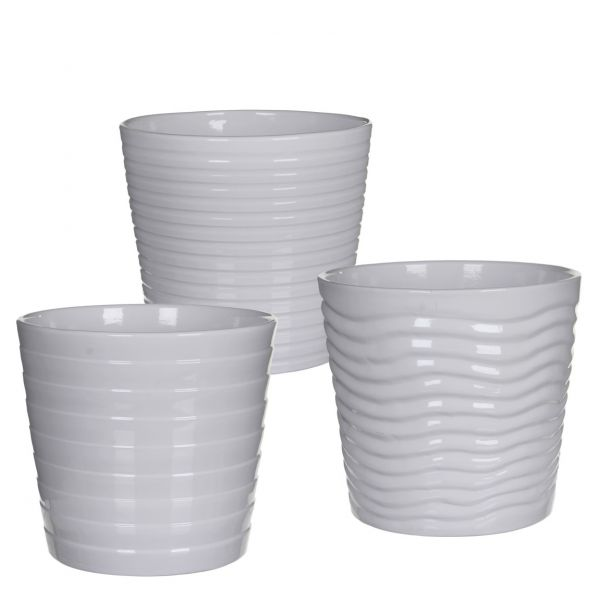 Vaso rotondo in ceramica