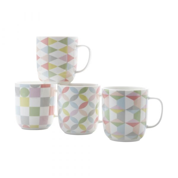 Geoclectic set 4 mug  gb