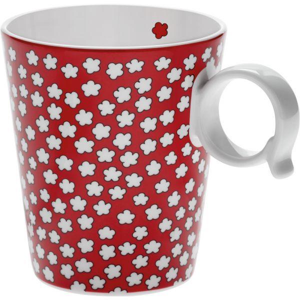 Mug.fresh.blossom red