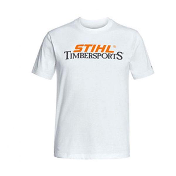 T-shirt timbersports bianca