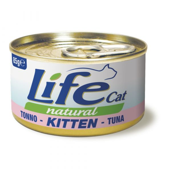 Lifecat natural lattina 85 gr.
