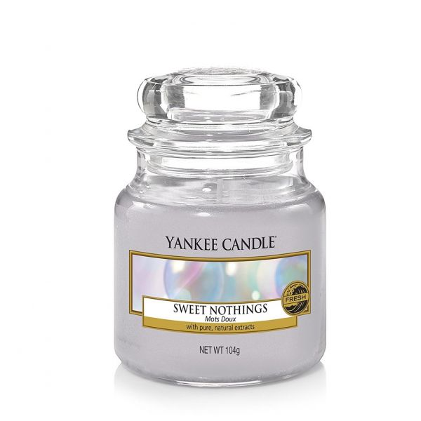 Giara profumata yankee candle sweet nothings piccola