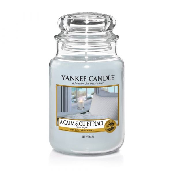 Giara profumata yankee candle a calm and quiet place grande