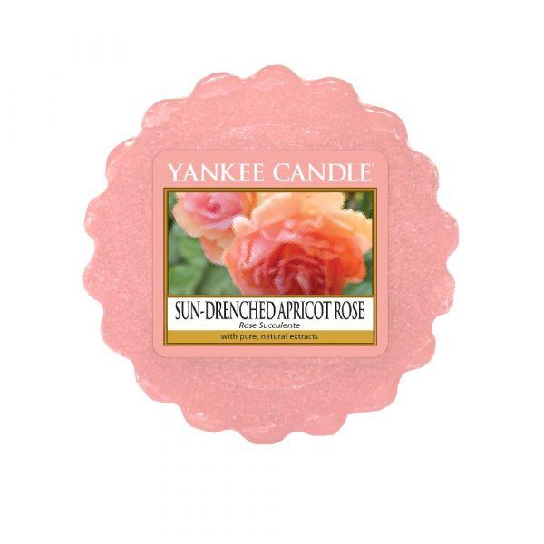 Tartina profumata yankee candle sun-drenched apricot rosa