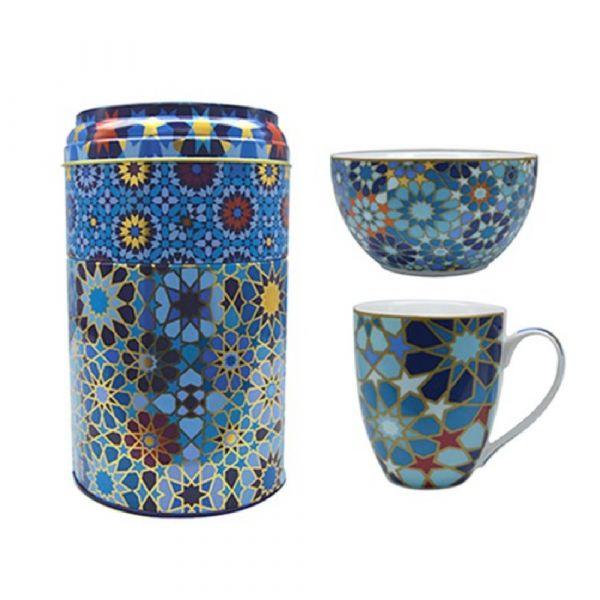Set mug+ciotola moucharabeh