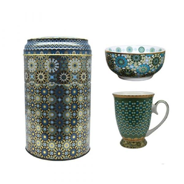 Set mug+ciotola andalusia
